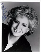 Barbara Walters signed vintage 7x9 publicity photo / autograph inscribed to Mary