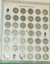 Set of Canada Silver 50c 1937-1966 all Varities (39) Coins