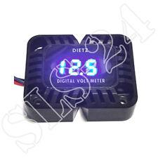 Dietz 26030 Digitales Voltmeter Blaues LED Display 12V