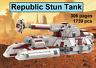 *custom* Lego Star Wars Republic Stun Tank - INSTRUCTION MANUAL ONLY