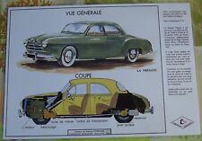 Création Affiche scolaire Set de Table Rossignol la Frégate Dinky Toy  Format A3