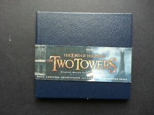 THE LORD OF THE RINGS: - THE TWO TOWERS - HOWARD SHORE (CD IN BOOK PACK !!)