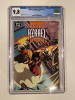 Batman Sword of Azrael 1 CGC 9.8 First appearance of Azrael  DC Comics 1992