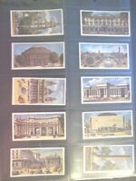 1967 Lyons Maid VIEWS OF LONDON monuments full set 40 Trade cards like tobacco