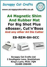 Magnetic Shim & Rubber Mat for eBosser /Cut'n'Boss  by Scrappy Cat EB-REM-SCC