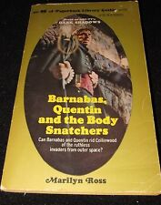 DARK SHADOWS paperback - Barnabas Quentin and the Body Snatchers - Excellent