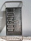 VTG ALL IN ONE Metal Flat Cheese Grater Rustic Decor Primitive Kitchen Rusty