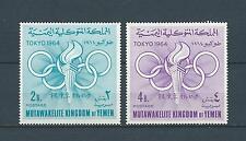 YEMEN - 1964 YT 163 à 164 - TIMBRES NEUFS** MNH LUXE