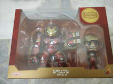 Tony Stark & Hulkbuster Cosbaby Series 2.5 CHEAPEST AOU Ultron MISB Hot Toys