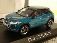 1/43 Norev Citroen DS3 Crossback 2019 blaumetallic / Dach schwarz 170021