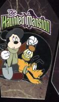 The Haunted Mansion Mystery Caretaker Mickey Pluto Disney Pin 65947