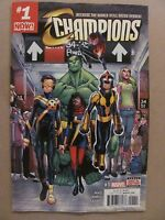 Champions #1 Marvel Comics 2016 Series 9.6 Near Mint+