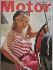 Motor magazine 4 June 1966 featuring Singer Gazelle road test