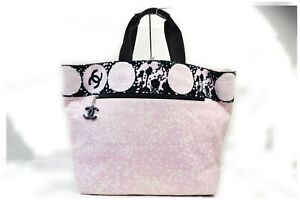 Chanel Tote Bag  Pinks Canvas 1411398