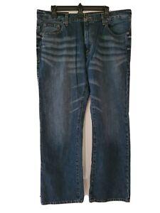 Calvin Klein Jeans Bleu Homme 36x30 M Lavage Légère Bootcut Dessous Taille