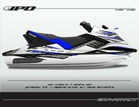 IPD Jet Ski Graphic Kit for Sea Doo Gen-1 RXT & GTX 4-Tec (RA Design)