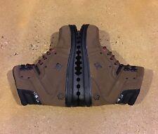 DC SPT Boots Brown Black Size 7 US Men's Water Resistant Boots BMX MOTO Skate