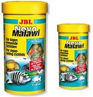 JBL Novo Malawi Cichlid Flakes 250ml 1L Fish Food NovoMalawi Original Tubs