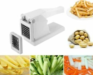 Potato Chipper French Fries Slicer Cutter & Veg Chopper New With 1 Extra Blade