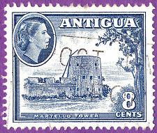 Martello Tower Martellos British Empire Coastal Forts Antigua Barbuda 1953