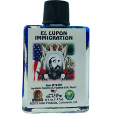 Immigration El Lupon Oil Indio Products 1/2 oz Wicca Santeria Magick Spiritual
