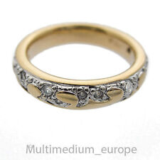 Pierre Lang Ring massiv vergoldet signiert Strass Ringgröße 56 gilt ❀☺❀