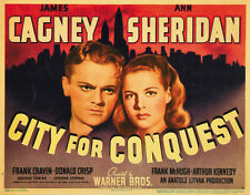 City for Conquest (1940) Ann Sheridan James Cagney movie poster print 2
