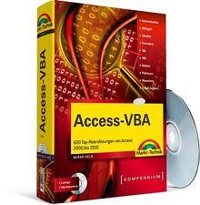Access-VBA Kompendium - Version 2000 - 2010, mit CD-ROM, Markt & Technik NEU