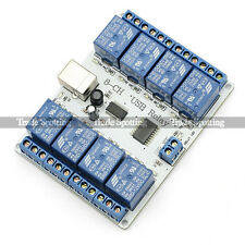 SainSmart 8-channel 12 V USB Relay Board Module Controller 4 Automation Robotics