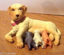 Golden Labrador Retriever Miniature 1/24 Scale G Scale  Diorama Accessory Item