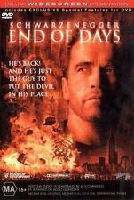 End Of Days (DVD, 2000) SEALED Free Postage