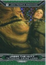 Star Wars Chrome Perspectives II X Fractor Parallel Base Card 35-J Jabba The Hut