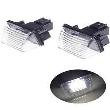 2Pcs LED License Number Plate Light For Citroen C3 C3 II C5 II C4 Picasso F7J8