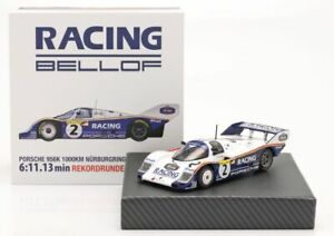 1:43 scale IXO Porsche 956K S Bellof - Nurburgring 1983 Lap Record Gift Set