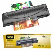 PERSONAL LAMINATOR A3 LAMINATING MACHINE COMPACT FREE POUCHES STARTER KIT 73001C