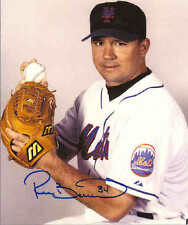 """Ricky Bottalico Autographed New York Mets 8"""" x 10"""" Photo w/COA Certification."""