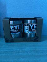 2 Pack - YETI RAMBLER 10 oz Vacuum Insulated Stainless Steel LOWBALL