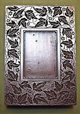 "A LARGE "" LEAF FRAME"" BOOKPLATE Printing Block.."