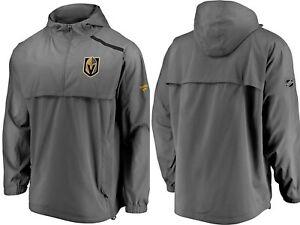 Fanatics $125 Las Vegas Golden Knights Pro Rinkside Anorak 1/4-Zip Jacket sz XL