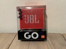 JBL GO Tragbarer Bluetooth Lautsprecher Rot Kabellos Freisprechen AUX Akku OVP
