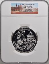 2017 5oz SILVER 25C Ellis Island NGC MS 69DPL Early Releases must see!