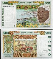 WEST AFRICAN STATES BURKINA FASO 500 FRANCS 1999 P 310 C UNC