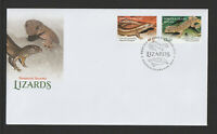 Norfolk Island 2021 : Lizards - First Day Cover Mint Condition