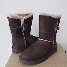 UGG Nash Suede Sheepskin Shearling Boots