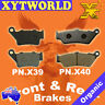 FRONT REAR Brake Pads for Honda CB 500 1997-2003