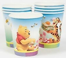 Winnie the Pooh Paper Party Cups 8 pack 9oz