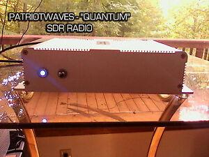"""QUANTUM"" DUAL TCXO SDR TRUNKING RADIO with RF AMPLIFIER +  Antenna"