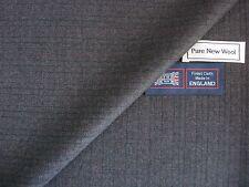 100% LANA PETTINATA VINTAGE Spina di Pesce Design facendo causa in tessuto - 3.4 M-Made in England