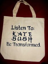 Kate Bush Tote Bag Wuthering Heights 90's 80s Retro Tshirt Vinyl New