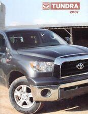 2007 07 Toyota  Tundra  original sales brochure MINT